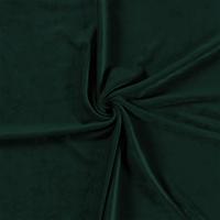 Velours dark green